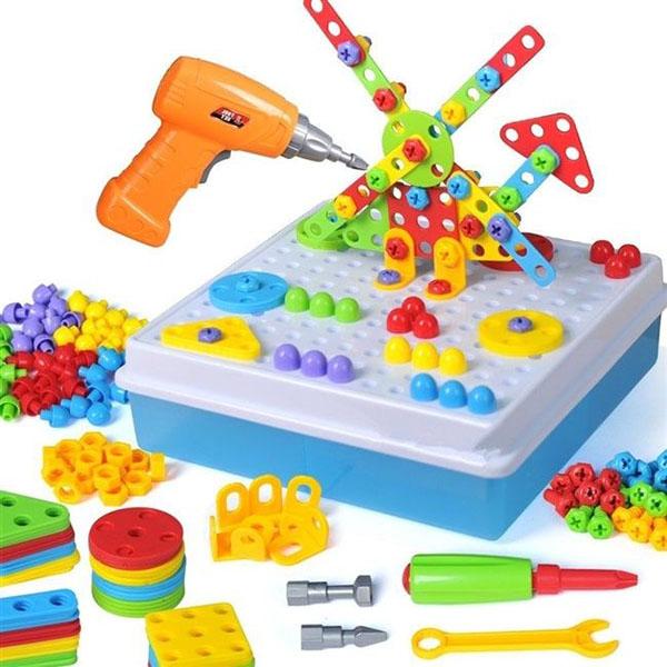 Детский развивающий конструктор Create and Play в Новокуйбышевске