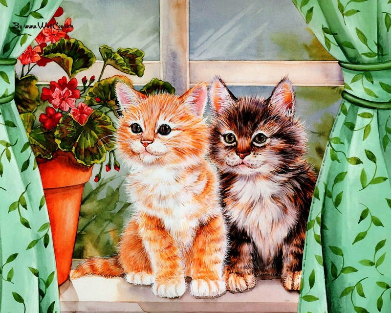 Картинки, открытки с котятами день всех
