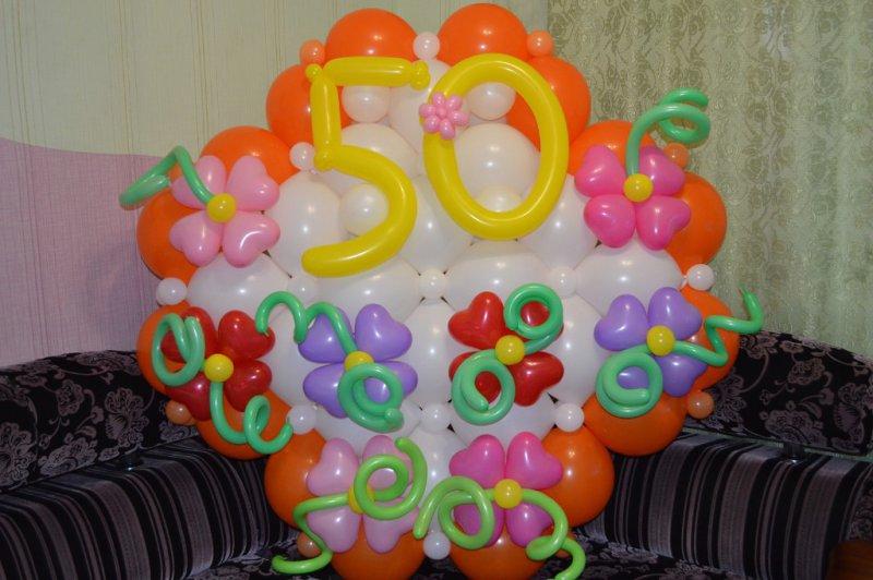 Открытка из шаров своими руками, днем рождения хорошую
