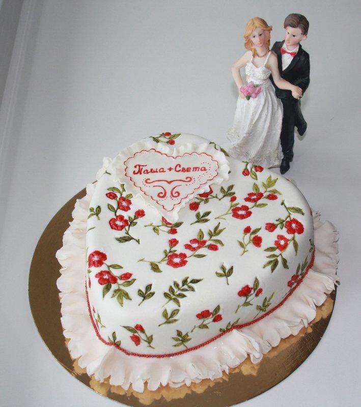 необычный торт на годовщину свадьбы фото снимках татьяны заметен