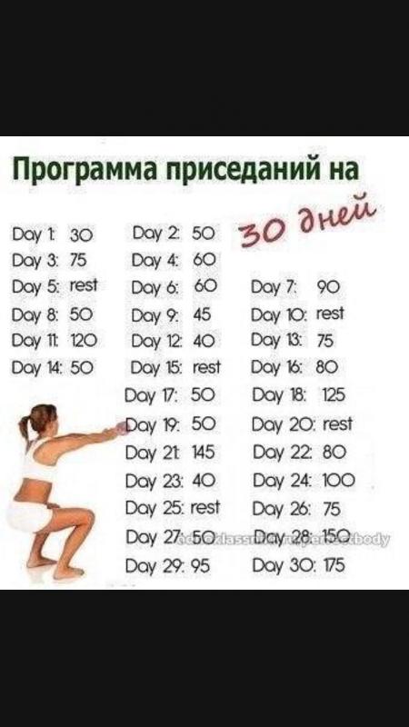 Похудеть Парню За Месяц Упражнения.